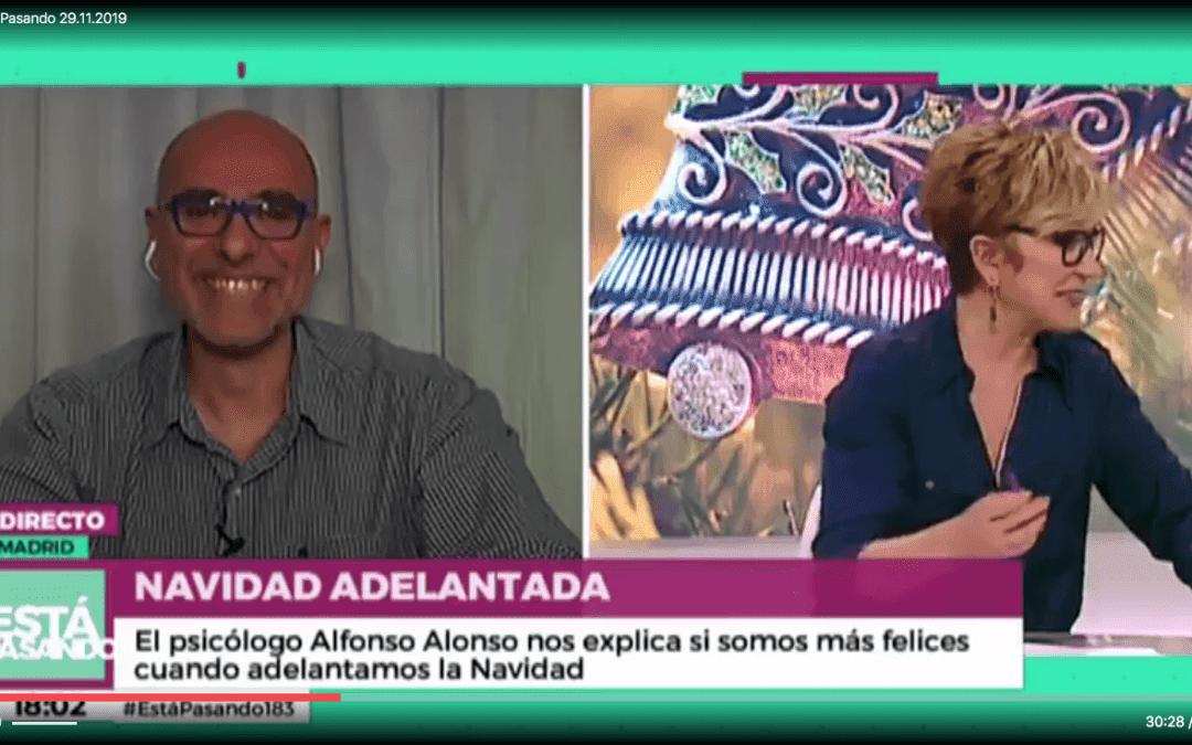 Alfonso Alonso en Telemadrid