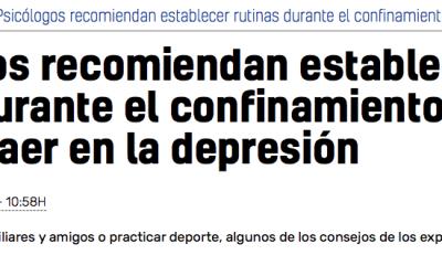 Entrevista del diario 20 minutos a Fernando Azor